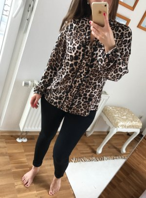 Atmosphere Long Sleeve Blouse black-bronze-colored