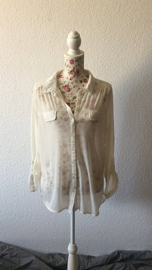 Atmosphere Transparent Blouse natural white-cream
