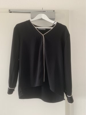 B.young Long Sleeve Blouse black-white