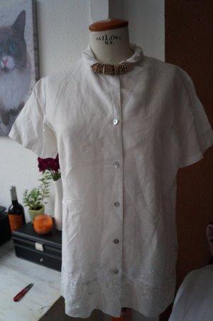 Bluse von Barisal Gr.42 weiß