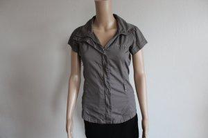 Bench Camicia blusa marrone-grigio-talpa