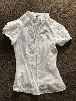 Bluse von Benetton in weiß