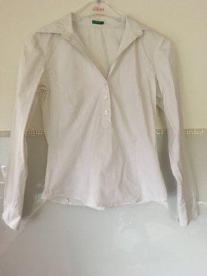 Bluse von Benetton in weiß Größe XS