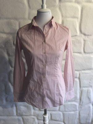 Bluse von Benetton rose- weiß Gr. 36