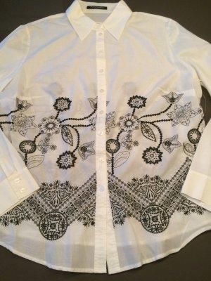 Bluse von Betty Barclay Größe 46 bestickt.