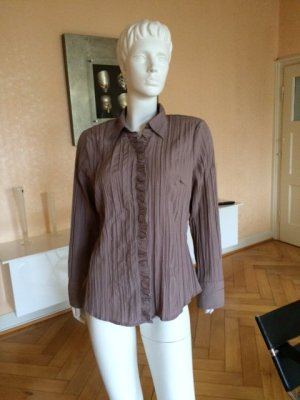 Bexleys Long Sleeve Blouse grey brown-taupe polyester