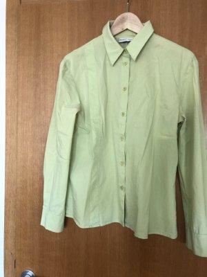 Blacky Dress Long Sleeve Blouse pale green-lime-green