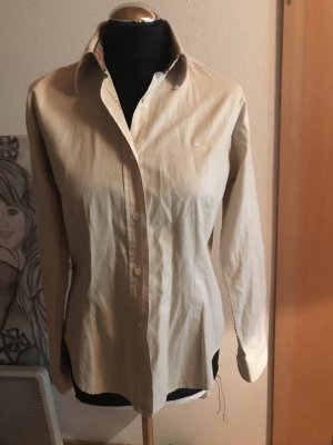 Burberry Long Sleeve Blouse cream
