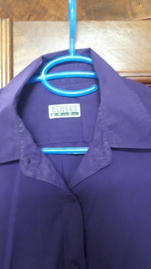 Bluse von CLOSED-lila, Größe 38/40