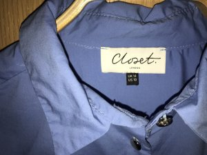 Closet Shirt Blouse neon blue