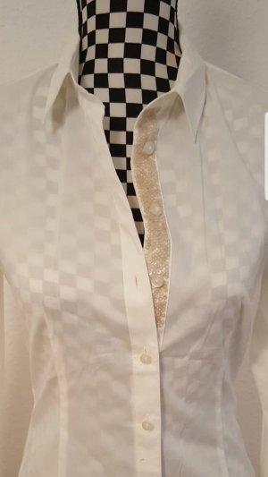 Comma Blouse à manches longues blanc cassé-crème