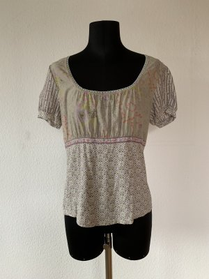 Container Short Sleeved Blouse multicolored