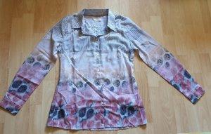Bluse von Corley allover Muster bunt - Gr. 38 - NEU! OP 49,99