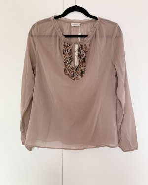Dea Kudibal Silk Blouse rose-gold-coloured silk
