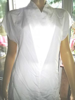 Delmod Slip-over blouse wit Polyester