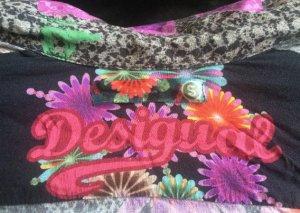 Bluse von Desigual in S, v-Ausschnitt, extravagant
