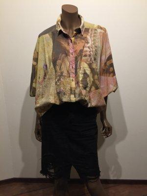 Bluse von Diesel, florales Muster, One Size