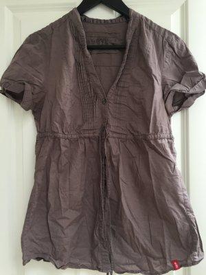 Bluse von EDC Gr.M Braun/Khaki