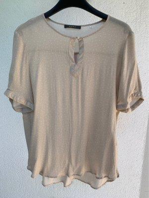Esprit Short Sleeved Blouse oatmeal-white