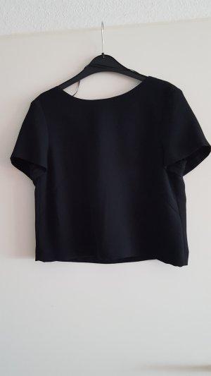 bluse von esprit in schwarz