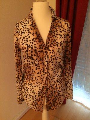 Bluse von Esprit Leoparden Muster