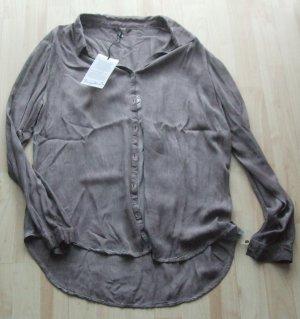 Bluse von Frogbox - braun -  Gr. 42