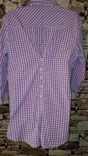 Gant Long Sleeve Blouse lilac-white cotton