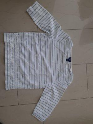 Gant Lace Blouse white-blue