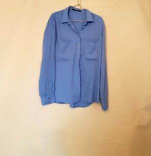 Bluse von Guess gr. L blau himmelblau
