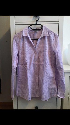 H&M Shirt Blouse white-lilac