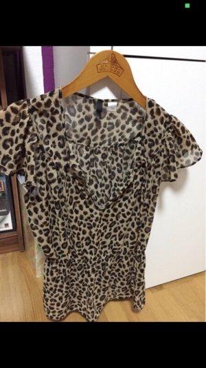 H&M Blusa marrón claro-marrón