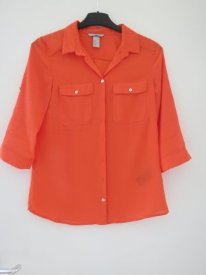 Bluse von H&M in orange