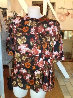 Bluse von H&M mit Blumen