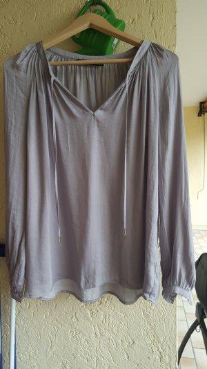 bluse von hallhuber in grau