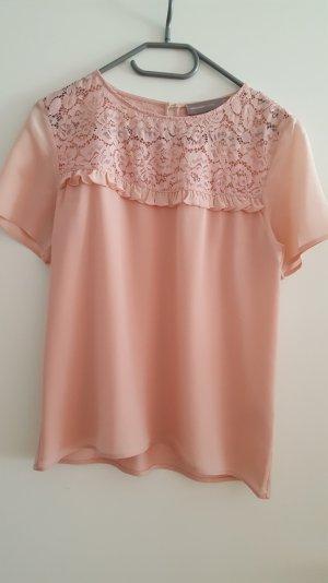 Bluse von hallhuber in rose