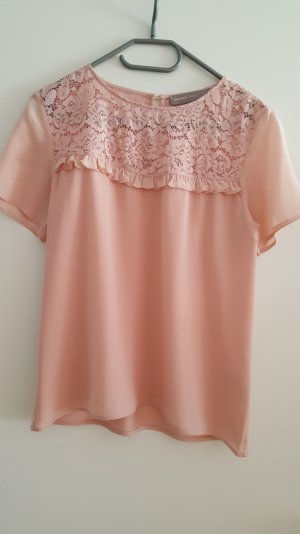 Bluse von hallhuber in rose