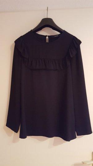 bluse von hallhuber in schwarz