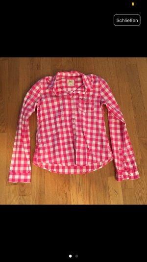 Hollister Cols de blouses rose-blanc