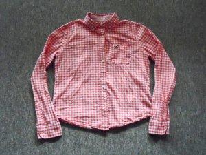 Hollister Blouse-chemisier rouge-blanc