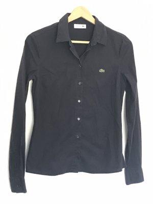 Lacoste Shirt met lange mouwen zwart