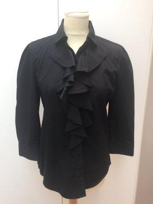 Bluse von Lauren Jeans, Ralph Lauren, Gr. M, schwarz