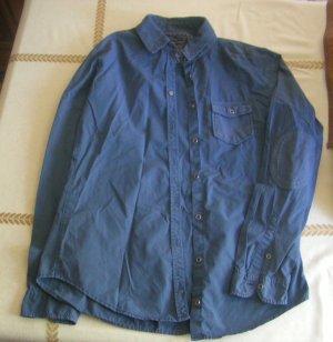 Bluse von Marc O' Polo, blau Größe 36, Baumwolle