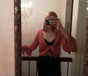 Nasty Gal Blouse portefeuille multicolore