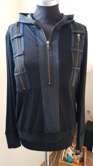 Bluse von NÜ Denmark, Gr. S, schwarz