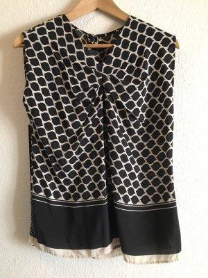 Bluse von Odeeh in schwarz/weiß