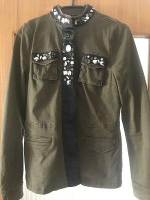 Only Blouse Jacket black-olive green