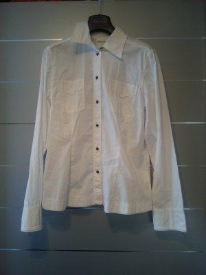 Bluse von Opus, Größe 40 / L, weiß