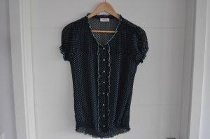 Orsay Blouse met korte mouwen blauw-turkoois Polyester