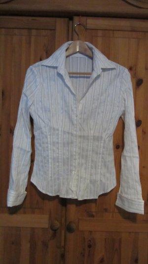 Bluse von Orsay, Nadelstreifen, creme - Gr. 40
