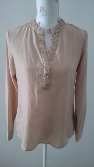 Heine Blouse rose chair